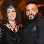 DJ Khaled with wife Nicole Tuck image