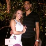 Danny Green with girlfriend Blair Bashen image
