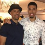 Danny Green with his father Danny Green Sr.