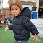 Darian Thompson's son Levi Thompson