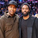 Denzel Washington with son John David Washington