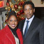Denzel Washington with wife Pauletta Washington