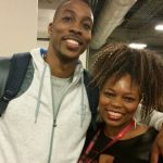 Dwight Howard with sister TaShanda Howard