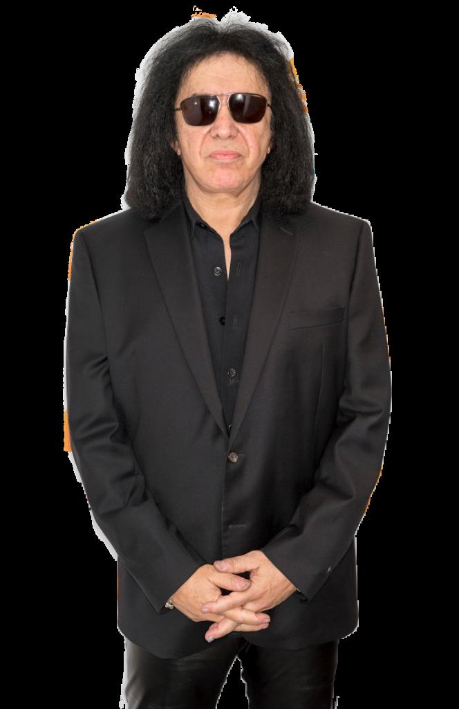Gene Simmons transparent background png image