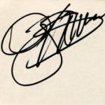 Gene Simmons signature