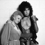 Gene Simmons with mother Flóra Klein