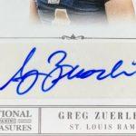 Greg Zuerlein signature