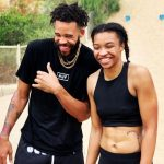 JaVale McGee with sister Imani McGee-Stafford