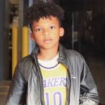 Jared Dudley's son Justus Dudley