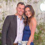 Joc Pederson with wife Kelsey Williams