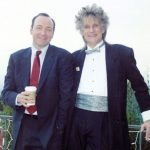 Kevin Spacey with brother Randy Fowler