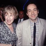 Kevin Spacey with mother Kathleen Ann