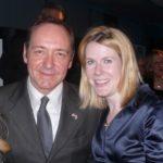 Kevin Spacey with sister Julie Ann Fowler Keir