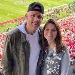 Matt Beaty with wife Jesica Parsley Beaty
