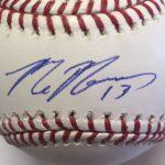 Max Muncy signature