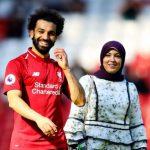 Mohamed Salah with wife Magi Salah