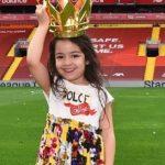 Mohamed Salah's daughter Makka Mohamed Salah