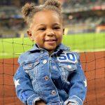Mookie Betts's daughter Kyn Betts