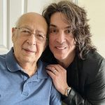 Paul Stanley with his father William Eisen