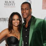 Rajon Rondo with ex-girlfriend Ashley Bachelor
