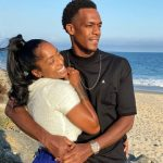 Rajon Rondo with girlfriend Latoia Fitzgerald