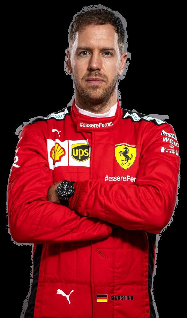 Sebastian Vettel transparent background png image