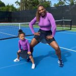 Serena Williams with daughter Alexis Olympia Ohanian Jr