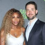 Serena Williams with husband Alexis Ohanian
