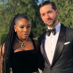 Serena Williams with husband Alexis Ohanian image