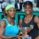 Serena Williams with sister Venus Williams