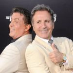Sylvester Stallone with brother Frank Stallone Jr