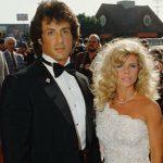 Sylvester Stallone with ex-wife Sasha Czack