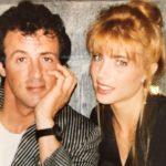 Sylvester Stallone with wife Jennifer Flavin Stallone old image