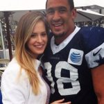 Tyrone Crowford with wife Kelsey Crawford