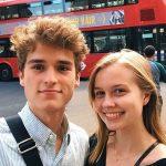 Angourie and her boyfriend Charles Vandervaart.