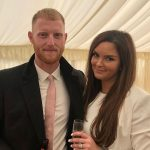 Ben Stokes with his wife Clare Stokes