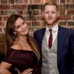 Ben Stokes with his wife Clare Stokes image