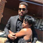 Chris Jordan with his sister Keisha Boyce