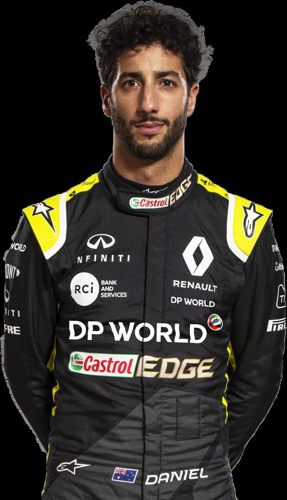 Daniel Ricciardo transparent background png image