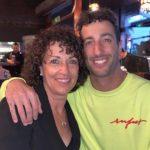 Daniel and his mother Grace Ricciardo image.