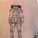 Daniels left arm tattoo image.