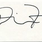 Diane Farr signature image.