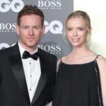 Eoin Morgan with wife Tara Ridgway Morgan