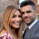 James Anderson with his wife Danielle Lloyd