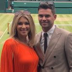 James Anderson with wife Danielle Lloyd