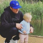 Jason ROy with daughter Everly Roy