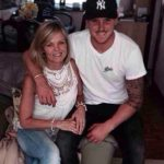 Jason Roy with his mother Chonell Roy