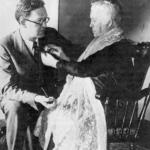 Jhon and his mother Barbara Curran image .