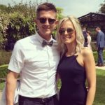 Joe Denly with his wife Henry Denly