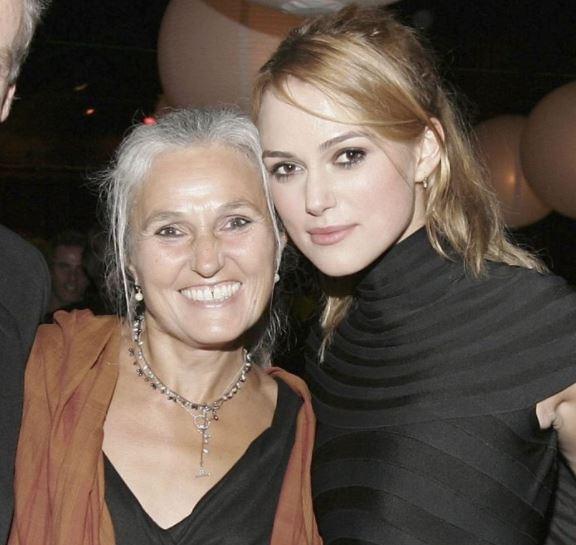 Keira Knightley with mother Sharman Macdonald ...